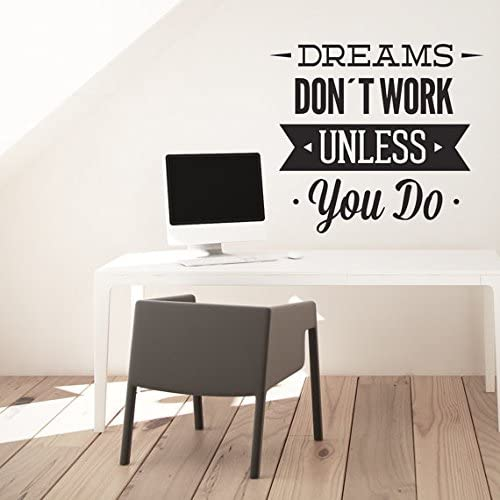 """H:120cm BE INSPIRED WALL QUOTE DECAL 47.2/"""""""