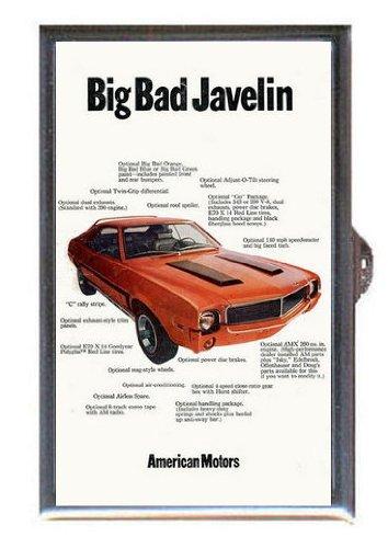 AMC Big Bad Javelin Ad, Guitar Pick or Pill Box USA Made ()