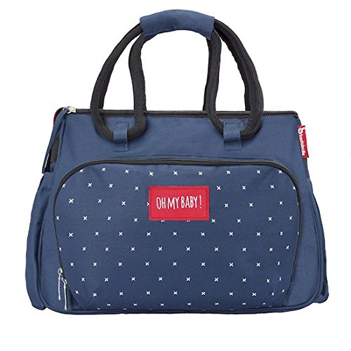 Badabulle Boho Changing bag, Grey BABYMOOV UK LTD B043020