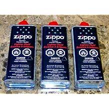 LOT OF 3 FULL BOTTLES ZIPPO PREMIUM LIGHTER FLUID 133 ml - 4.68 oz FAST SHIPPING