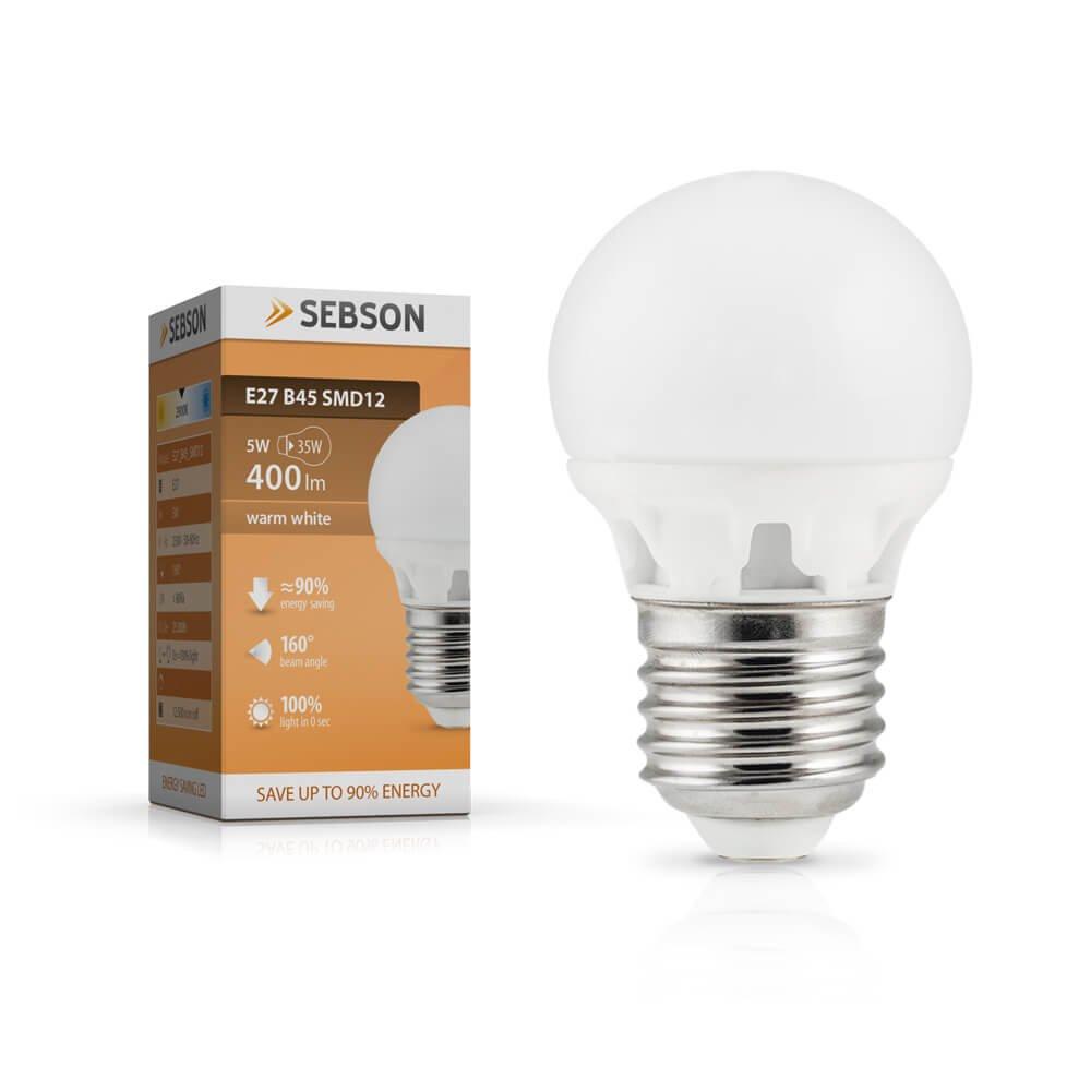 Deckenlampe 40cm Durchmesser sebson Deckenleuchte t/ürkis Textil inkl Leuchte rund Textilschirm E27 LED Lampe 5W warmwei/ß