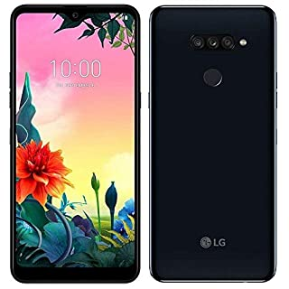 "LG K50S (32GB, 3GB) 6.5"" HD+ Display, Triple Camera, MIL-STD 810G Certified, US + Global 4G LTE GSM Factory Unlocked LM-X540HM - International Model (Black, 32 GB)"
