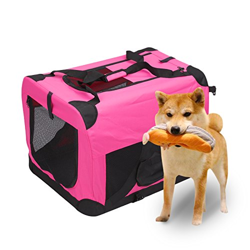 Magshion Portable Crates Kennels Fabric Transport With St...