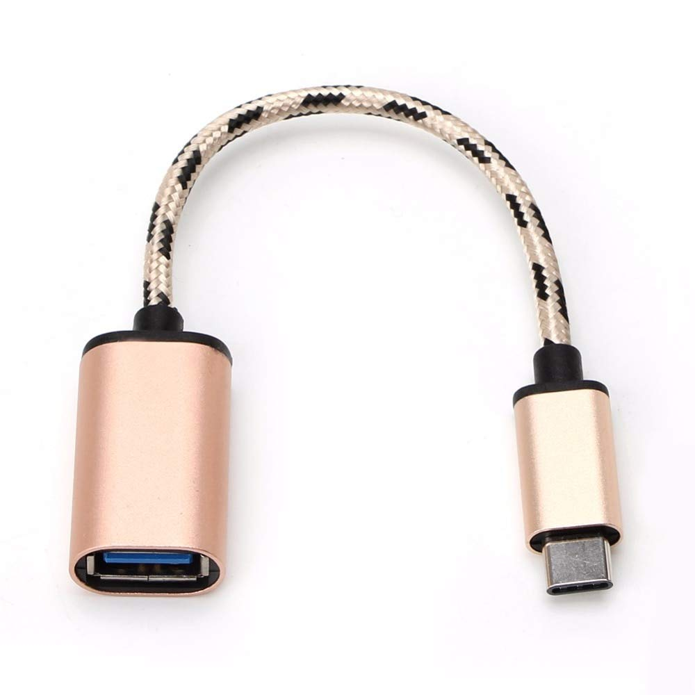SAUJNN Metal Type C USB 3.1 Male to USB 3.0 Female Adapter OTG Data Cable Connector New
