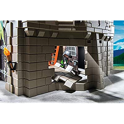 PLAYMOBIL Wolf Knights' Castle Playset Building Kit: Toys & Games