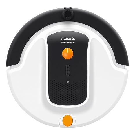 Haier Xshuai Aspirador de carga automática con WIFI, cámara incorporada y soporte de Amazon Alexa