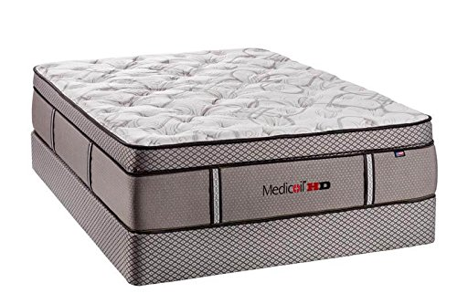 Impressions Pillow Memory Foam (STLBeds Heavy Duty Bariatric Mattress, Pillow Top Mattress for Plus Size and Obese People With Box Spring)