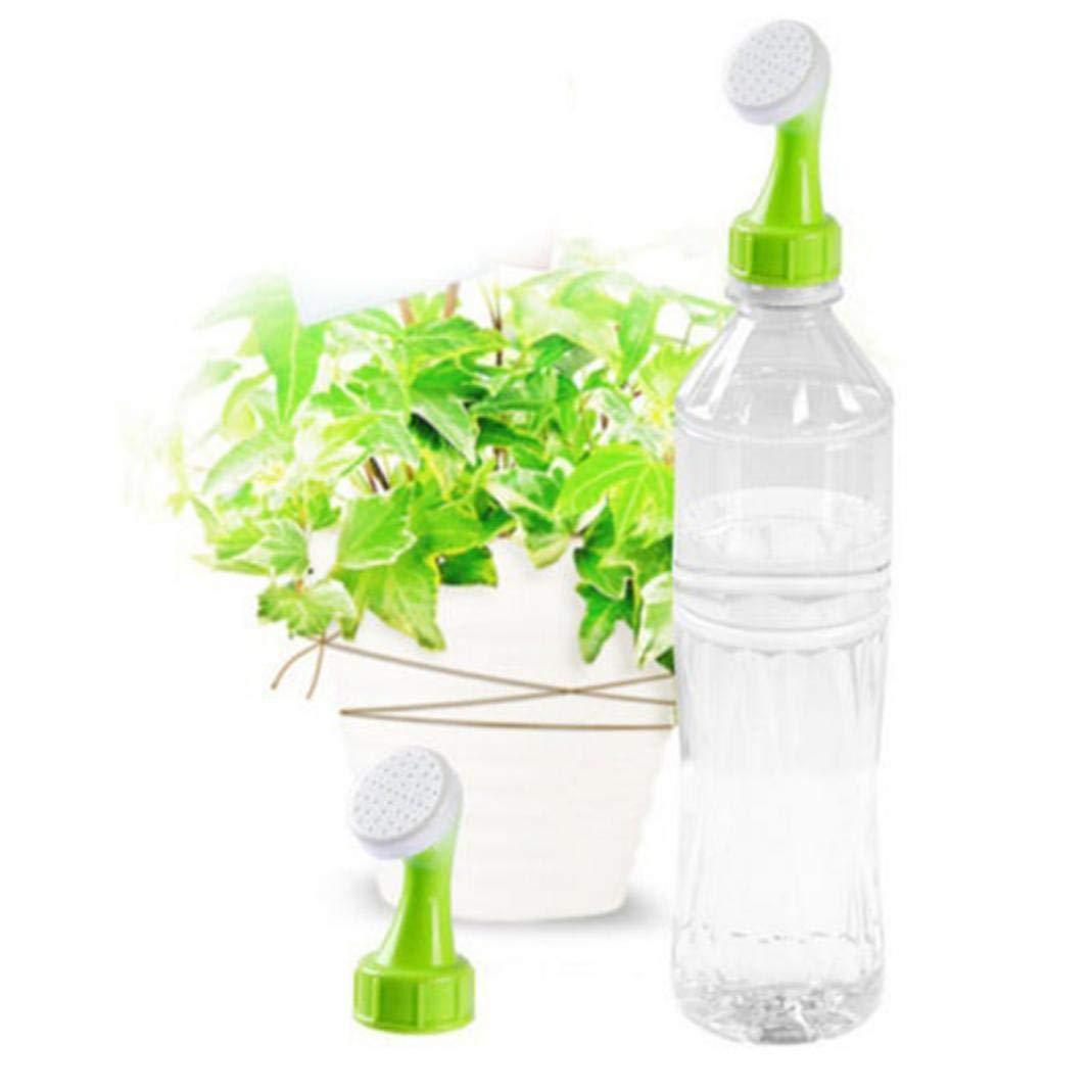 Boquilla de riego para plantas de jardín, 2 piezas, aerosoles portátiles, riego, regadera, verduras, niebla, alcachofa de ducha, riego de botellas, ...