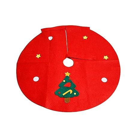 Desconocido WFZ17 Falda para árbol de Navidad - 17,7/23,6/35,4 ...
