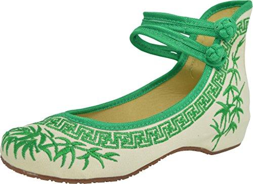 Green pour Chaussures de ville DYNASTY femme TM à lacets TANG vwz0Z