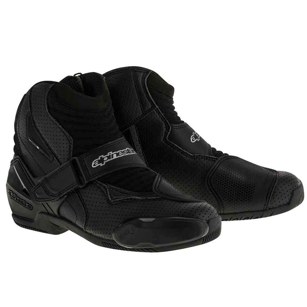 Alpinestars SMX-1 R Vented Boots (47) (Black)
