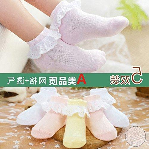 Summer Infant new thin section socks relent openwork lace princess girls fishnet stockings socks women girl baby socks