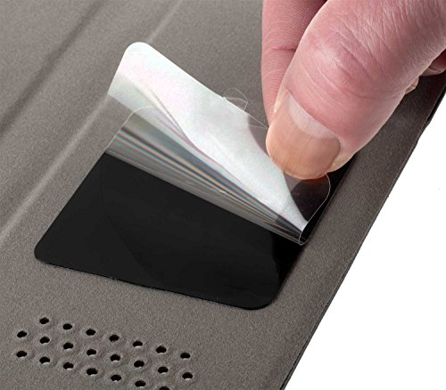 yayago Universal Haft Book Style Tasche für Apple iPhone 7 / iPhone 8 Tasche mit Magnetverschluss Schwarz