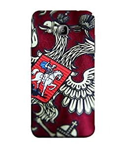 ColorKing Football Russia 12 Multi Color shell case cover for Samsung On7