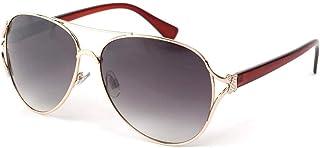 Eye Wear Lunettes Soleil Trust avec monture Marron - Mixte