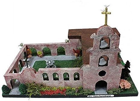 1 Smart Choice Learning Kit Modelo de misión de California, San Juan Capistrano: Amazon.es: Juguetes y juegos