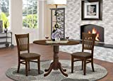 East West Furniture Kitchen Table Set with a Dining