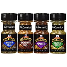 McCormick Grill Mates Variety Pack, Montreal Chicken, Montreal Steak, Mesquite Grill, Smokehouse Maple