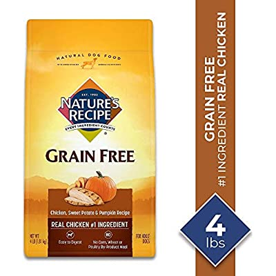 Nature's Recipe Grain Free Easy to Digest Dry Dog Food