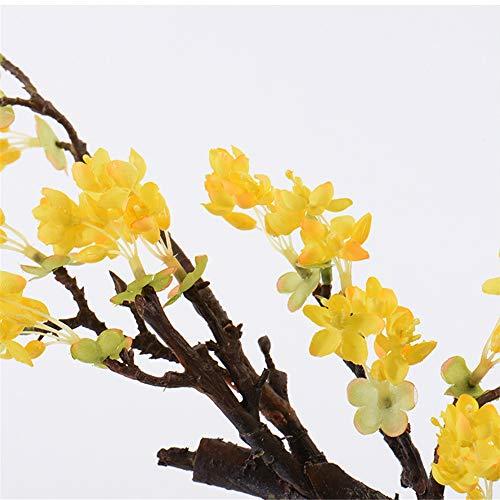 CITW Simple Art Yellow Fruit Tree Bonsai Bonsai Desktop Ornaments Modern Minimalist Home Furnishing OrnamentsOffice Gift by CITW (Image #4)
