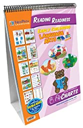 NewPath Learning Reading Readiness Curriculum Mastery Flip Chart Set, Early Childhood