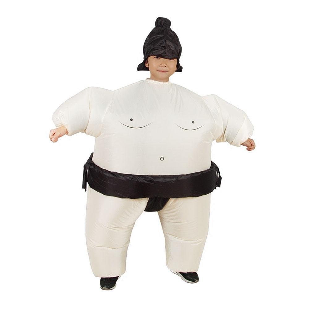 Ropa de Inflable,niceEshop(TM) Luchador de Sumo Disfraz para Fiesta Cosplay,Blanco