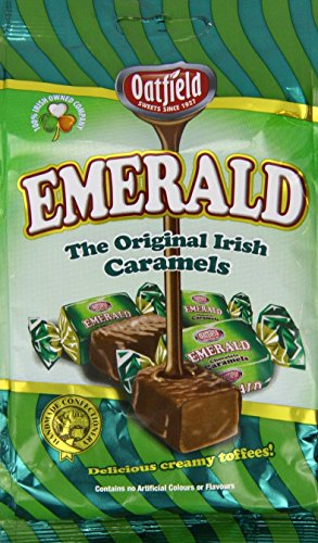 OATFIELD EMERALD (ORIGINAL IRISH CARAMELS) - SWEETS FROM IRELAND
