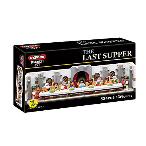 Oxford The Last Supper Block Kit, Brick for Mania Line Assembly Blocks BM3521