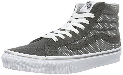 Vans Damen Ua Sk8-hi Slim Hohe Sneakers Grau (punti Metallici Grigio Scuro / Peltro)