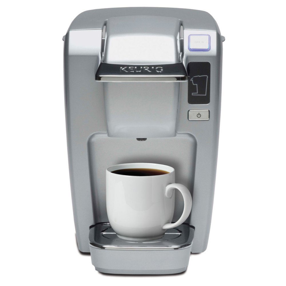 Keurig Mini Plus Personal Coffee And Tea Brewer Platinum 10 Oz.