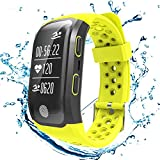 S908 GPS Running Trackers With Heart Rate Sleep Monitor Sedentary Reminder Pedometer IP68 Waterproof Smart Band Fitness Trackers For iPhone & Android
