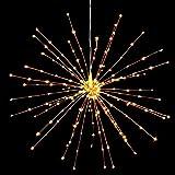 PXB 2 Pack Starburst Sphere Lights,200 Led Firework