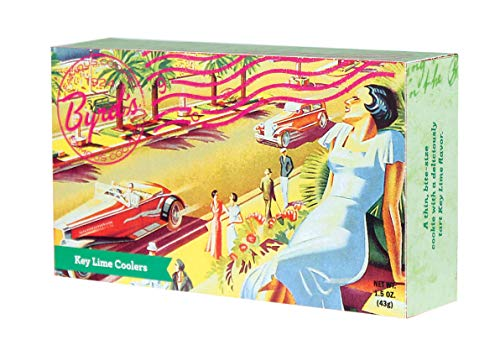 (Byrds Famous Cookies Convenient Set of 3 Postcard 1.5 0z. Portion Packs From Savannahs Iconic Cookie Bakery - (Key Lime)