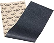 Jessup Skateboard Griptape Sheet: The Choice of pro Skaters Worldwide. Bubble Free & Easy to Apply. (9-Inc