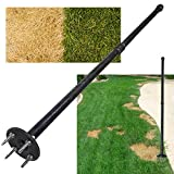 Keyfit Tools Grass Seed SPIKER Dog Spot & Bare Spot Seeding Tool. Get The Most Seed Germination with All Types of Seed & Patch Scotts EZ Seed Repairs Dead Spots Dog Damage Lawn Turf & Grass Repair