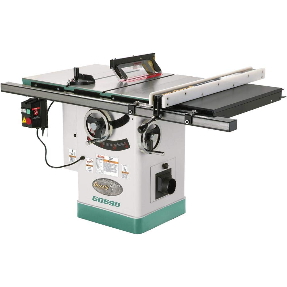 Grizzly G0690 – The Most Rugged Table Saw