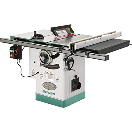 grizzly g0690 cabinet table saw with riving knife, 10-inch - power ...