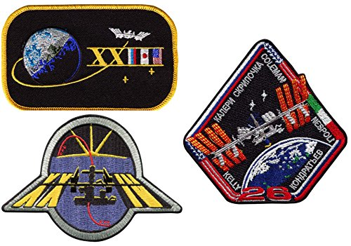 Patch Set International Space Station Expedition 23 24 26 Official