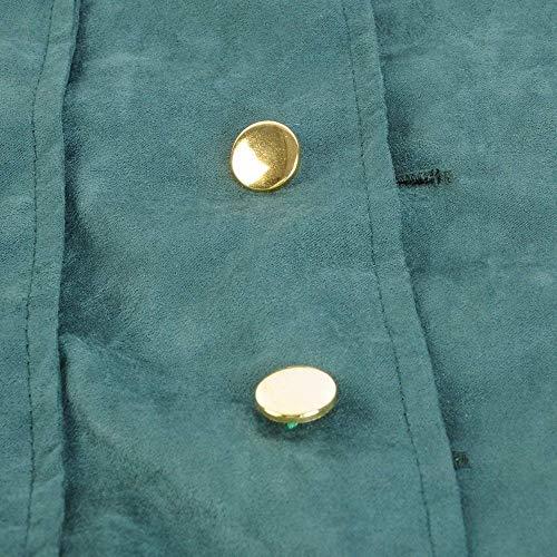 Cómodo Coat Victoriana Gothic Jacket Long Tuxedo Vintage Cosplay Steampunk Chaqueta De Battercake Chaqueta Uniform Grün Punto Wvqfq71