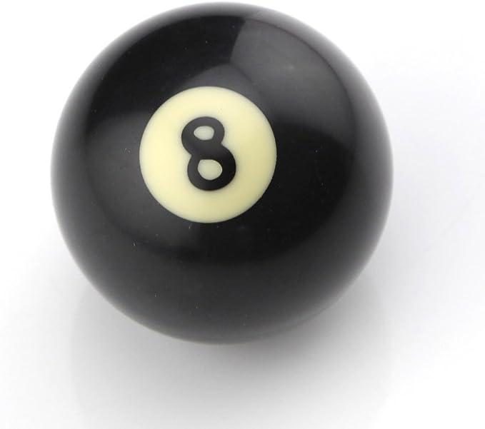 Owfeel Americano Negro número 8 de Billar Cue Ball 2 Pulgadas ...