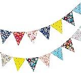 Da.Wa Glitter 4M Star String Garland Hanging Decoration Paperboard Hanging Buntings Banners