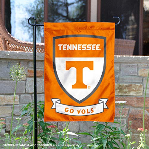 College Flags and Banners Co. Tennessee Volunteers Shield Garden Flag