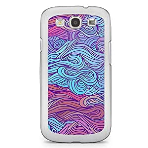 Hairs Samsung Galaxy S3 Transparent Edge Case - Design 25