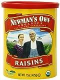 Newman's Own Organics Organic California Raisins, 15-Ounce Cans (Pack of 6)