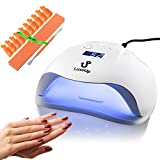 Best Led Nail Lamps - LuxeUp UV Nail Lamp Dryer 54W Upgraded Design Review