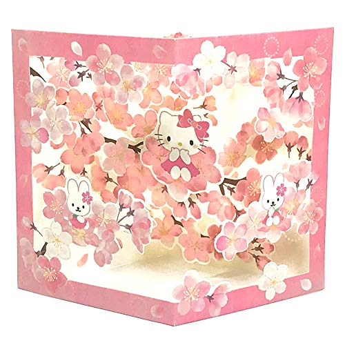 Hello Kitty Cherry Blossoming Pop Up Greeting ()
