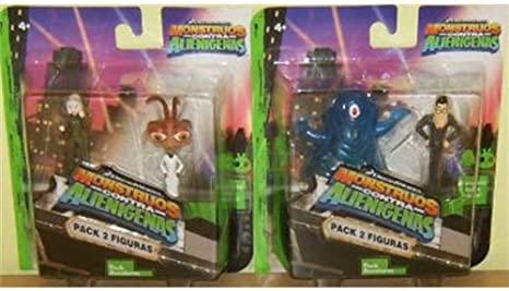 Bizak Pack Mini Figuras Monsters Vs: Amazon.es: Juguetes y juegos