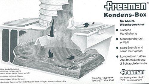 Freeman Kondens-Box für Abluft-Wäschetrockner wak