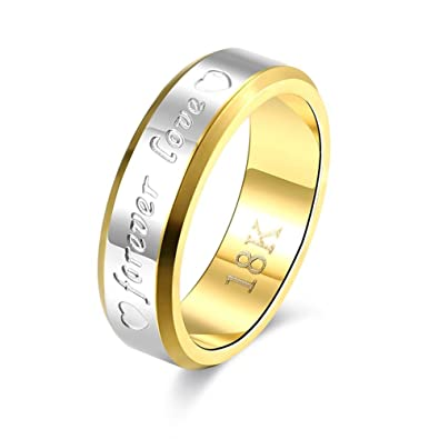 a7548a5d331ac7 Pinfect Silver Plated Gold Plated Elaborate Design Finger Ring (Men)(6#)