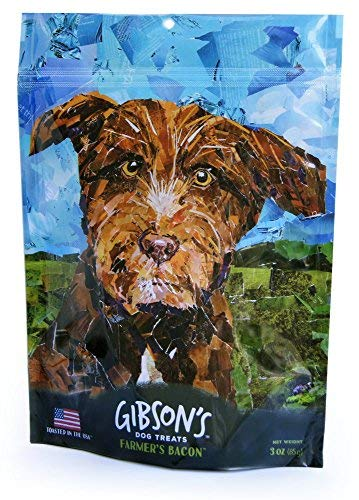 Gibson's Farmer's Bacon - Human Grade USA Soft Jerky Dog Treats, 3 oz